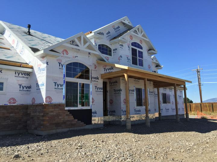 Wall and roof sheathing and tyvek