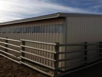 pole barn toston framing tuf-rib metal Harmon Enterprises Construction